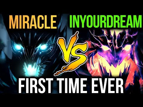 First Time Miracle- vs Inyourdream - SEA Battle Dota2
