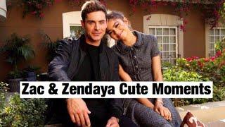 Zac Efron & Zendaya | Cute Moments