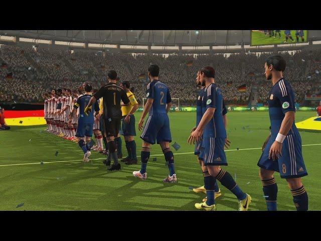 2014 Fifa World Cup - Final Argentina Vs Alemania, Partidazo Gameplay Xbox 360