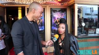 Imani Hakim at 'Chocolate City' LA Premiere | Chasing LA