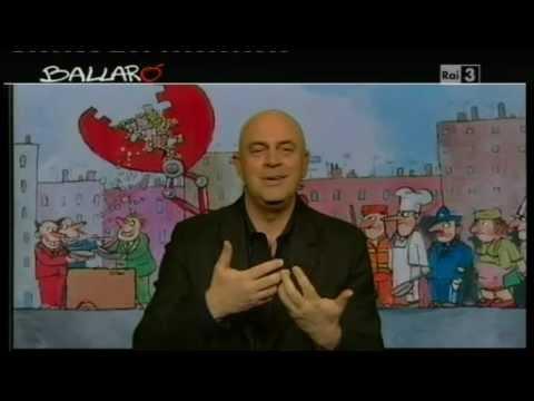 Ballarò – MAURIZIO CROZZA – Ballarò 17/04/2012 – Beppe Grillo è sceso in camper