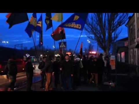 Марш пам'яти крутянців у Орлику (Первомайськ)