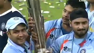 T20 Final Match Ind vs Pak 2007 Presentation party || Mahindra Singh Dhoni Created History