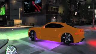 role de camaro no gta iv escutando mc nego blue as minas do kit
