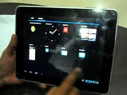 10 Inch tablet Android 4.0.3 review.AVI