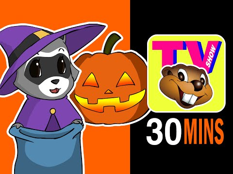busy Beavers Tv Show Halloween Special - Saturday Morning Cartoons, Baby Nursery Rhyme Television video