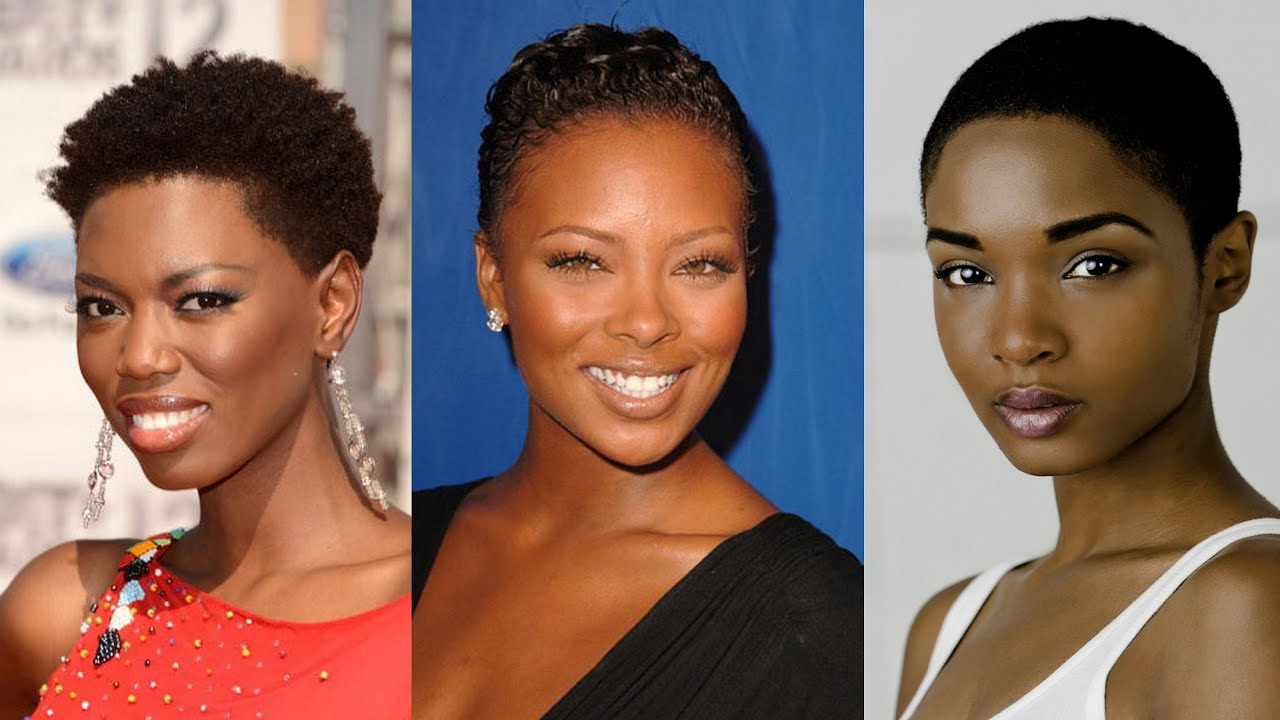 25 Best Short Natural Hairstyles for Black Women - YouTube