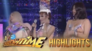 It's Showtime Miss Q & A: Vice Ganda and Anne run away after Odessa coughs