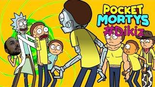Pokemon Morty - Rick and Morty : Pocket Mortys # Dikiz