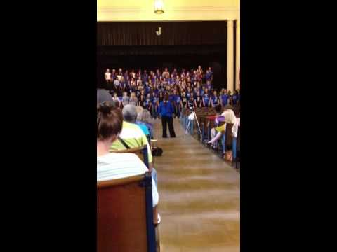 Johnson Traditional Middle School Choirs 2013 ; Wooly Bully