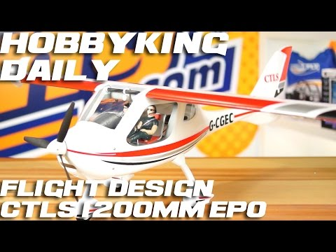 Flight Design CTLS - HobbyKing Daily