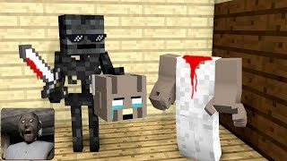 Download Song Monster School : GRANNY TROLLING HORROR GAME - Minecraft Animation Free StafaMp3