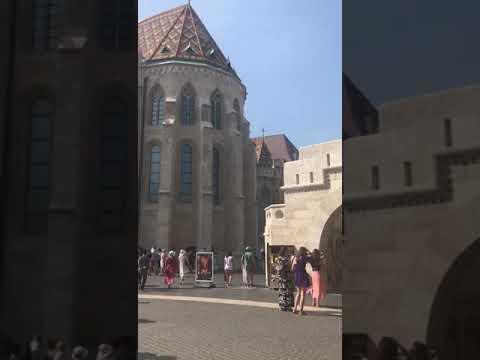 Fischerbastei in Budapest, Hungaria/Ungarn, 29.08.2019 (1)