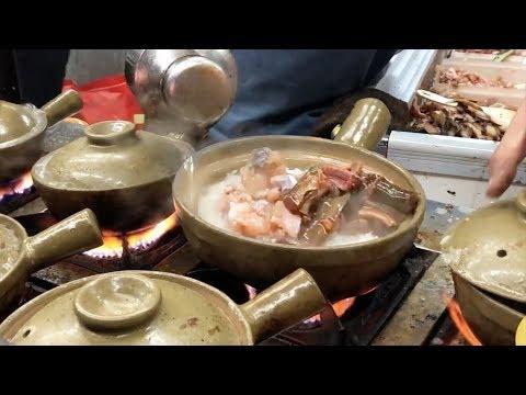 【雪鱼China Food Travel】广州近100人在一起吃煲仔饭!老板一人管8个炉子,卖15元都抢不到