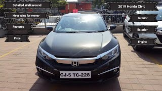 2019 Honda Civic VX - Most value for money variant - Return of the legend | Walkaround