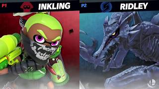 "Ridley vs. Inkling | Smash Bros. Ultimate ""Pro Gameplay"""