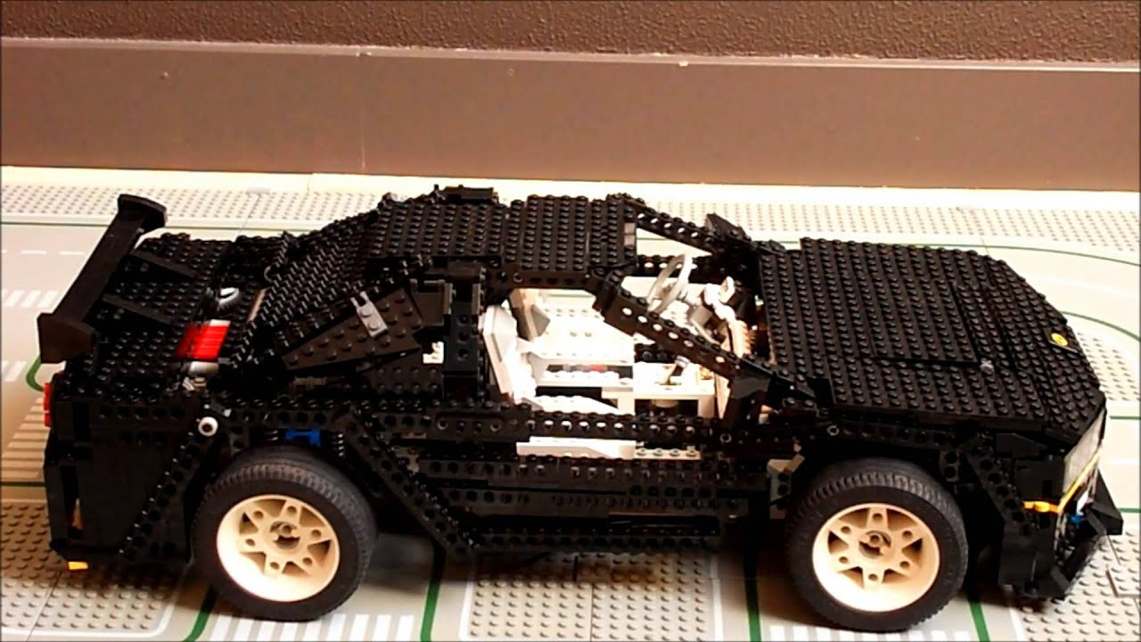 Lego Nissan Skyline Gtr R34 8880 Moc Youtube