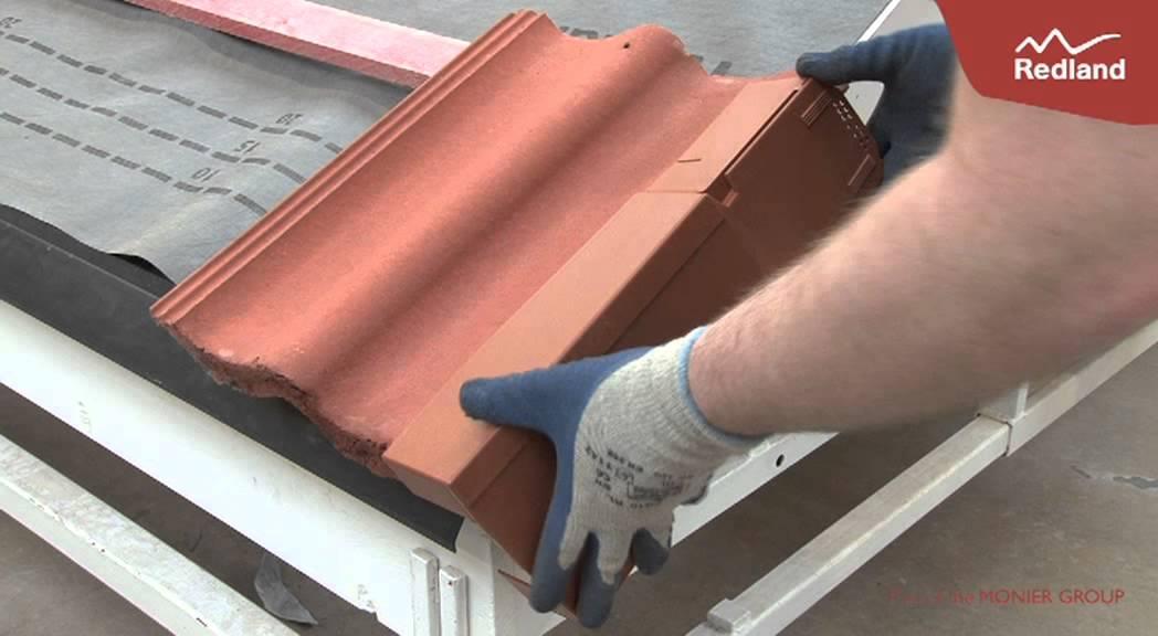 Interlocking Concrete Tiles Ambi Dry Verge Installation