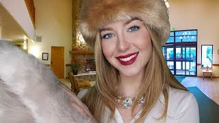 [ASMR] Winter Luxury Hotel & Spa Check In