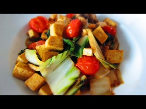 Leafy Greens with Tofu (Weightloss Recipe)