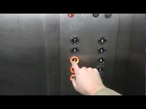 A fun ride on the Otis Touch Sensitive elevators at Barnes Jewish Hospital