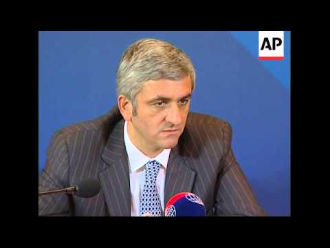 French Defence Minister Morin comments at NATO meeting