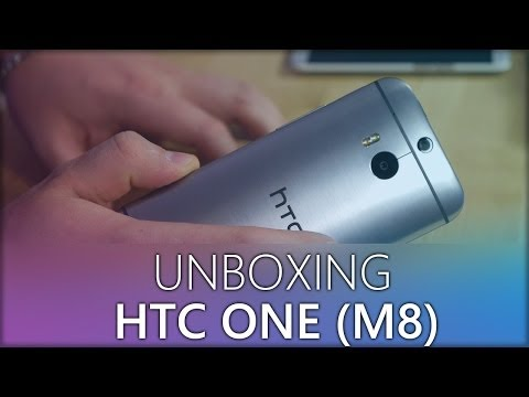 HTC ONE (M8) Unboxing - Hands On - German / Deutsch