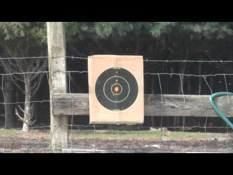 HFC T77 GBB Airsoft Gun Shooting Test