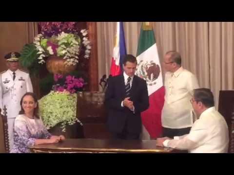 Nieto, Aquino agree on battle vs illegal drugs, etc.