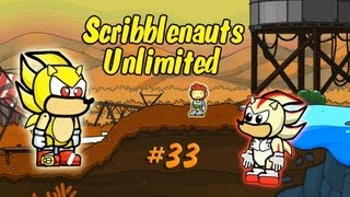 Scribblenauts Unlimited Wii U Making Super Sonic in the Object Editor 33