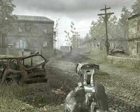 Pushkin and Dantes Episode 1 in Call of Duty 4