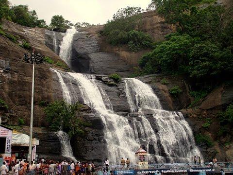 Courtallam Main Falls - குற்றாலம் பேரருவி.