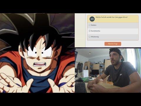 [DUMM] Welche Technik setzt Goku gegen Hit ein? Dragonball Super Quiz
