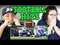 Biggest Football Hits Ever REACTION