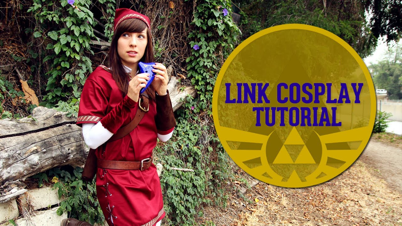 LINK COSPLAY TUTORIAL - YouTube