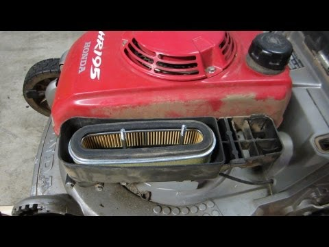 Honda HR195 Carburetor Cleaning Lawn Mower Repair - The Fix - Part II - Feb. 14. 2013