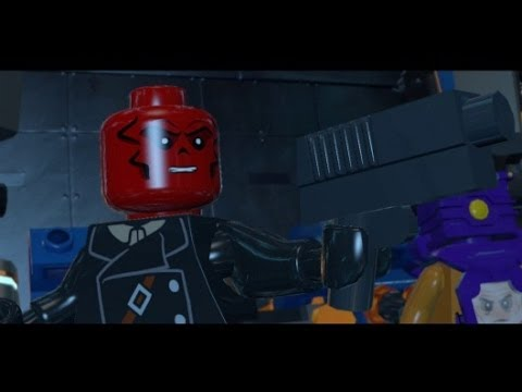LEGO Marvel Super Heroes 100 Walkthrough Part 6 Red Head Detention Red Skull Boss Fight