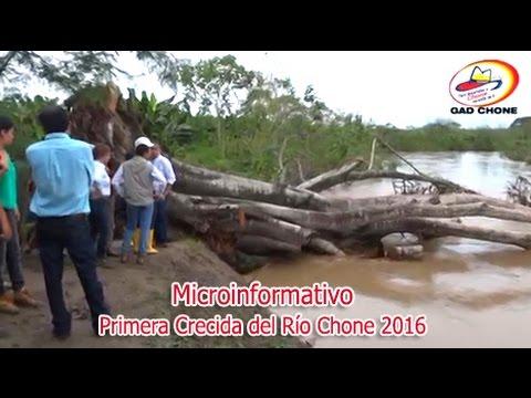 Primera Crecida del Río Chone 2016