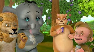 Akkad Bakkad Bambe Bo & many More   Hindi Rhymes for Children   Infobells