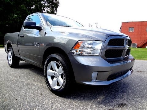 2013 Ram 1500 Tradesman Express Regular Cab Youtube