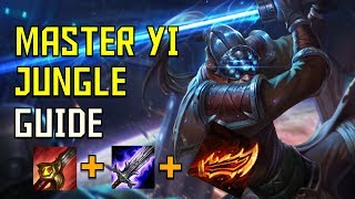 Master yi Jungle complete Guide and Build - Climb to Plat. ep.5 - League of Legends
