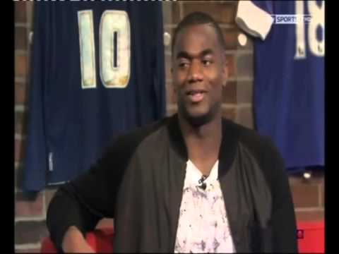 Sebastien Bassong on Sky sport show : Soccer Am Feb2013