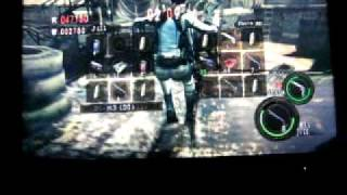 Resident Evil 5 Team Survivors(Public Assembly) me(manilabuy)w/ bunny_kitty vs 2 lagging players