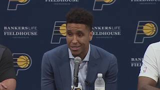 Malcolm Brogdon's Introductory Press Conference