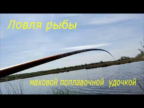 как ловить рыбу маховой удочкой