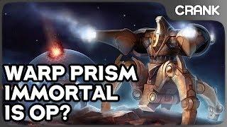 Warp Prism Immortal Is OP? - Crank's Variety StarCraft 2