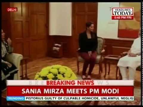 PM Modi felicitates Sania Mirza after US Open win