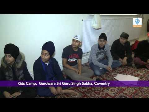 090115 Children's Camp - Gurdwara Sri Singh Sabha, Coventry