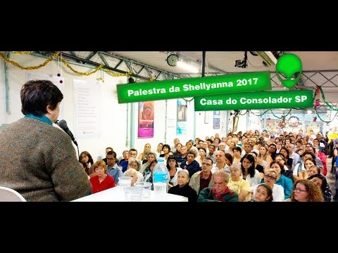 Lecture by Shellyanna Extraterrestrial (2017) by the medium Mônica de Medeiros