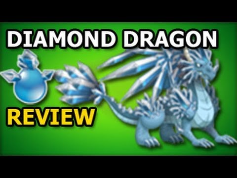 DIAMOND DRAGON Dragon City Egg and Level Up Fast Review